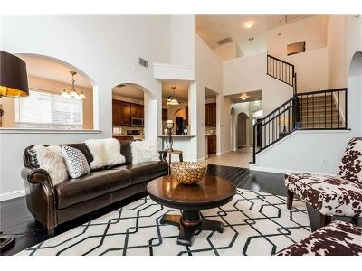 Round Rock Single Family Home For Sale: 3725 Fossilwood Way