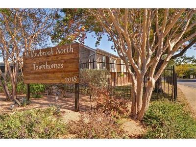 Austin Condo/Townhouse For Sale: 2018 W Rundberg Ln #20A