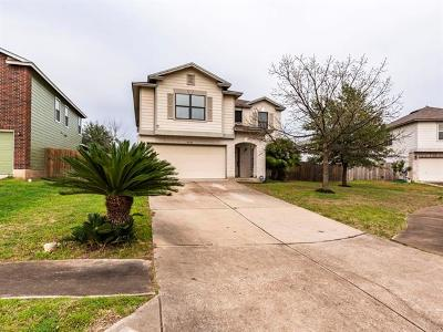 Del Valle Single Family Home Pending - Taking Backups: 5405 Tabitha Cv