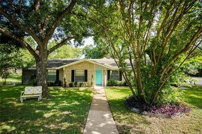 Hays County, Travis County, Williamson County Single Family Home Pending - Taking Backups: 1004 Timberwood Dr