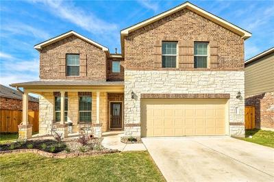 Pflugerville Single Family Home For Sale: 19624 Dunstan Beacon Ln