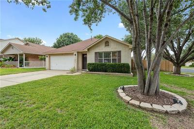 Cedar Park Single Family Home For Sale: 1601 Eagle Wing Dr