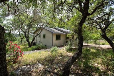 Wimberley TX Single Family Home For Sale: $349,900