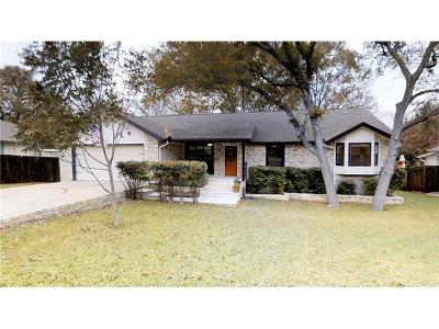 Round Rock Single Family Home For Sale: 1405 W Creek Loop