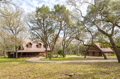 Wimberley Single Family Home Pending - Taking Backups: 316 Rancho Grande Dr