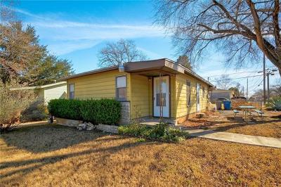 Austin Single Family Home For Sale: 3101 E 14 1/2 St