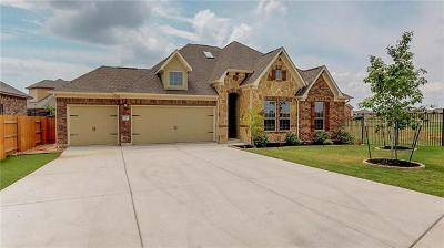 Round Rock Single Family Home For Sale: 3445 Francisco Way