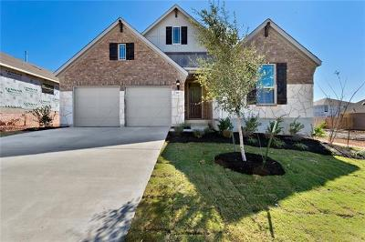 Round Rock Single Family Home For Sale: 5813 Bellissima Way
