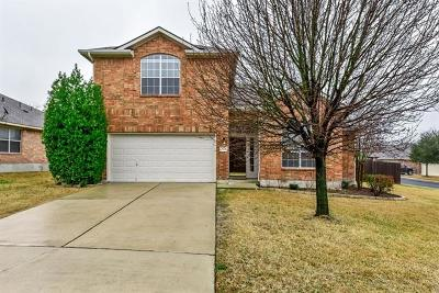 Georgetown Single Family Home For Sale: 2302 Candle Ridge Trl