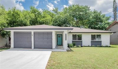 Austin Single Family Home For Sale: 10301 E Rutland Vlg