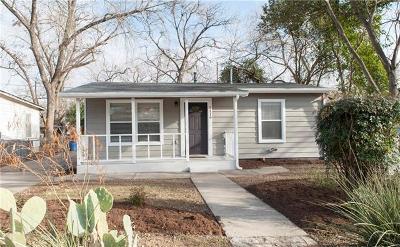 Austin Single Family Home For Sale: 1119 Mark St #D