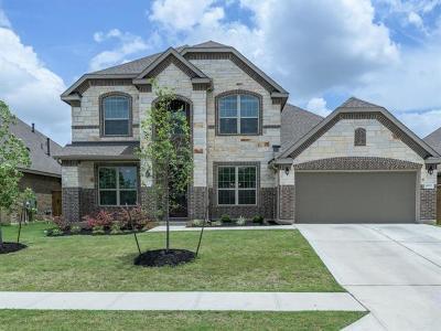 Round Rock Single Family Home Pending - Taking Backups: 4075 Flowstone Ln