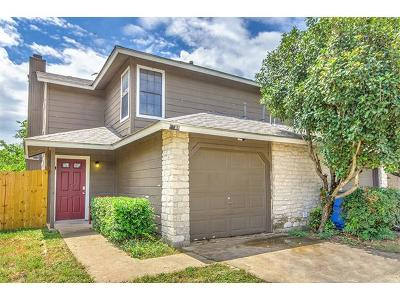 Pflugerville Condo/Townhouse For Sale: 1117 Orchard Park Cir