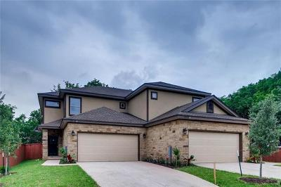 Travis County Condo/Townhouse For Sale: 3303 Blumie St #B
