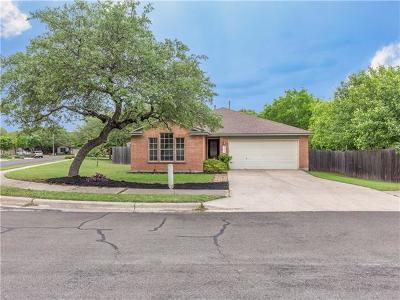 Cedar Park Single Family Home For Sale: 2001 Carriage Hills Cv