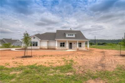 Burnet County Single Family Home For Sale: 112 Wranglers Way