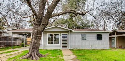 Single Family Home For Sale: 1910 Wheless Ln