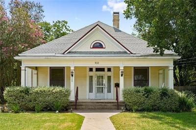 Lockhart Single Family Home For Sale: 813 S Brazos St