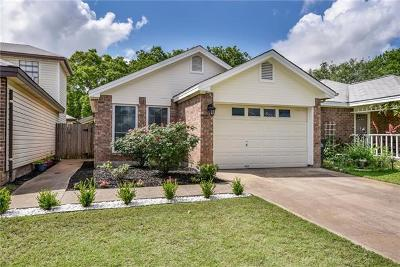 Leander Single Family Home Pending - Taking Backups: 836 Eagles Way