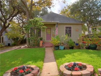 Hays County, Travis County, Williamson County Single Family Home Pending - Taking Backups: 503 Leland St