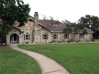 Round Rock Single Family Home For Sale: 2703 Valley View Cv