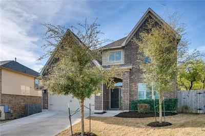 Leander Single Family Home For Sale: 653 Cerezo Dr