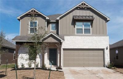 Georgetown Single Family Home For Sale: 1812 Cliffbrake Way