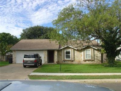 Round Rock Single Family Home Pending - Taking Backups: 1302 Beth Ln