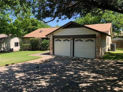 Travis County Single Family Home Pending - Taking Backups: 11613 Parkfield Dr