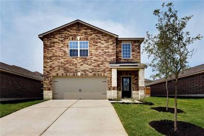 Manor Single Family Home For Sale: 13421 William McKinley Way