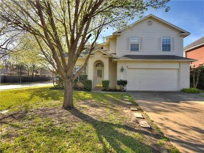 Round Rock Single Family Home For Sale: 3070 Bent Tree Loop