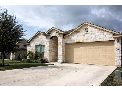 San Marcos Single Family Home For Sale: 502 Capistrano Dr
