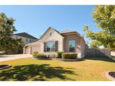 Cedar Park Single Family Home Pending - Taking Backups: 1801 Zach Russell Dr