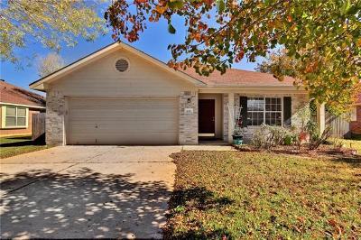 Cedar Park Single Family Home For Sale: 628 Columbine Ave