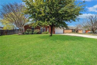 Harker Heights Single Family Home Pending - Taking Backups: 2306 Modoc Dr