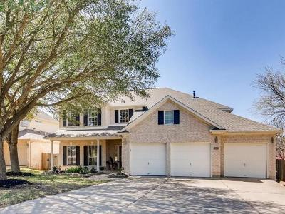 Round Rock Single Family Home For Sale: 8503 Sea Ash Cir