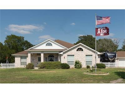 Cedar Creek Single Family Home For Sale: 121 McLeod