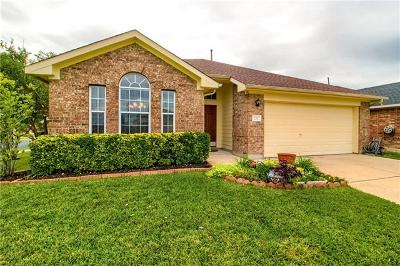 Round Rock Single Family Home For Sale: 232 Chandler Crossing Trl