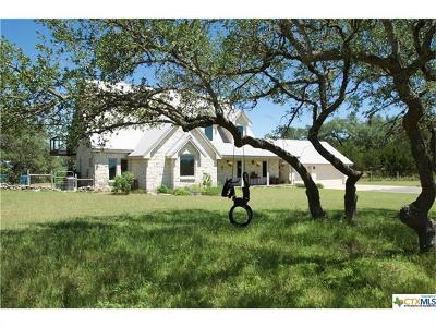 Wimberley Single Family Home Pending - Taking Backups: 843 Saddleridge Dr