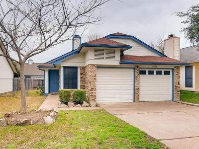 Travis County Single Family Home Pending - Taking Backups: 12909 Widge Dr