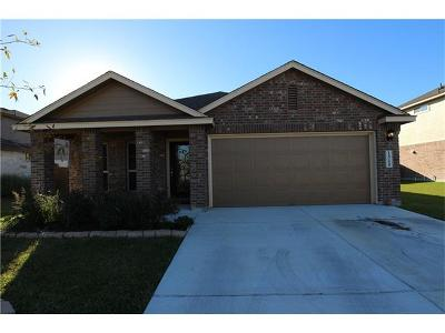 Lockhart Single Family Home For Sale: 1510 Paint Brush Dr