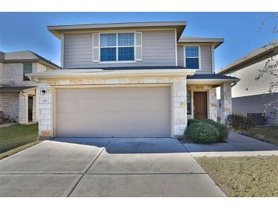 Leander Single Family Home For Sale: 128 Housefinch Loop