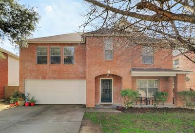 Cedar Park Single Family Home For Sale: 1906 Carriage Club Dr