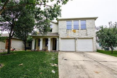 Kyle Single Family Home For Sale: 484 Hometown Pkwy