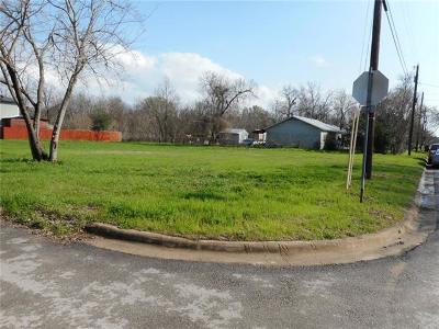 Bastrop Residential Lots & Land For Sale: Lot 1 Walnut
