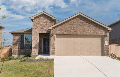 Manor Single Family Home For Sale: 11708 Amber Stream Ln