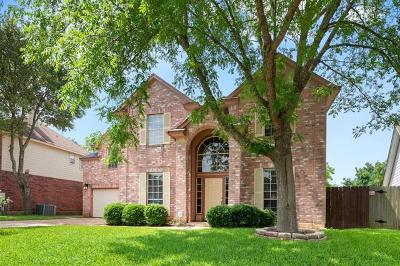 Leander Single Family Home For Sale: 16306 Spotted Eagle Dr