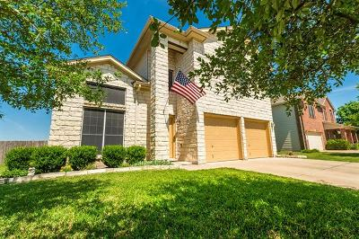 Hutto Single Family Home For Sale: 1511 Reagan Wells Dr