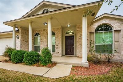 Round Rock TX Single Family Home For Sale: $260,000