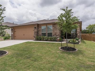 Leander Single Family Home For Sale: 420 Tula Trl